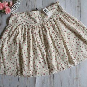 GAP 🌼 Polka-dot Skirt
